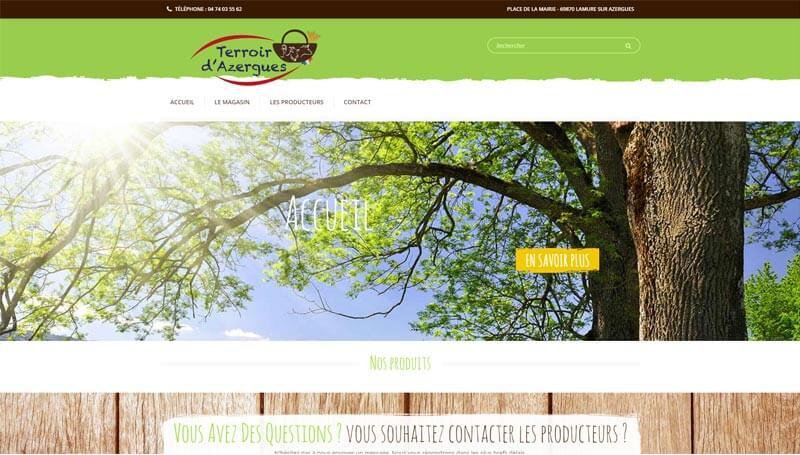 Visuel site Terroir d'Azergues